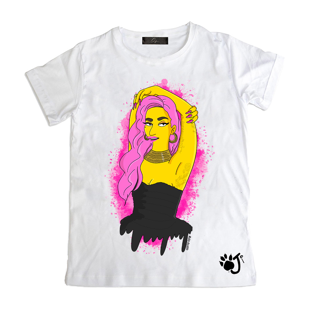 LADY G Kid t-shirt | Oji Italia