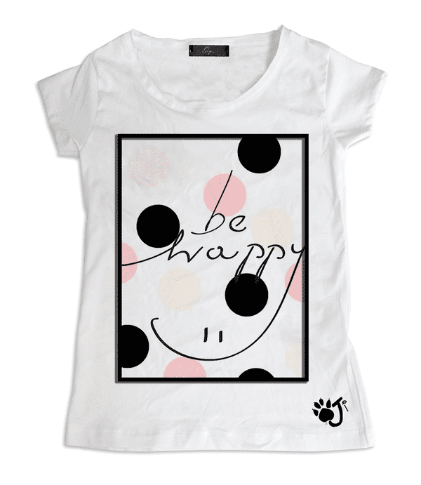 T-Shirt Donna POP HAPPY | Oji Italia