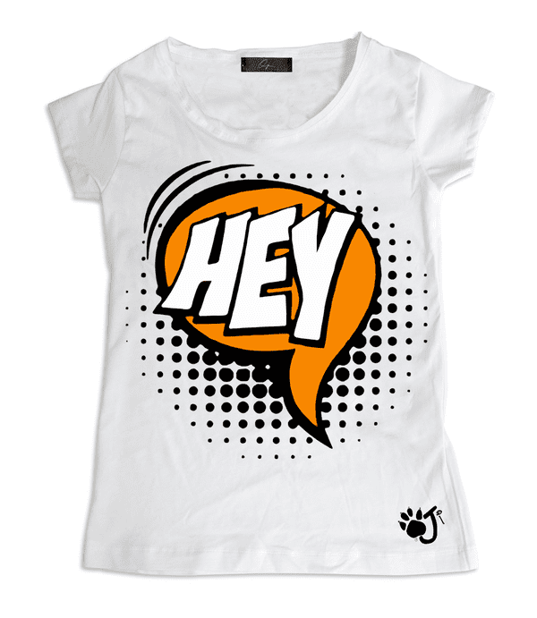 T-Shirt Donna POP HEY | Oji Italia