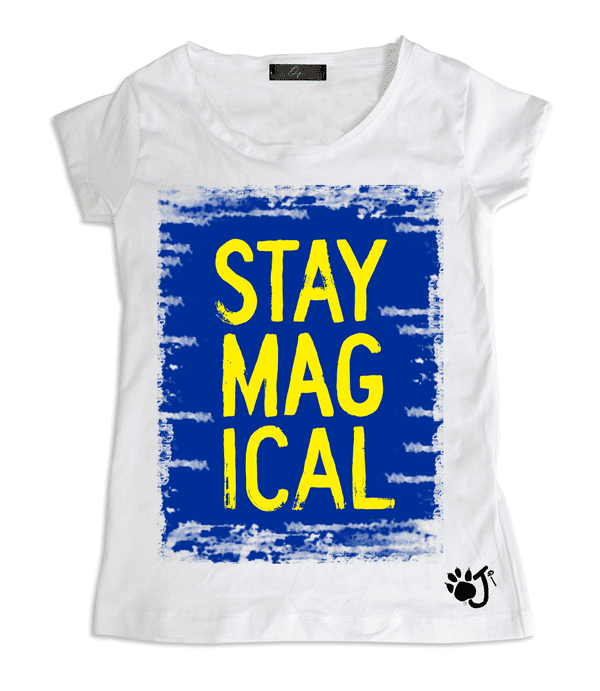 T-Shirt Donna POP MAGICAL | Oji Italia