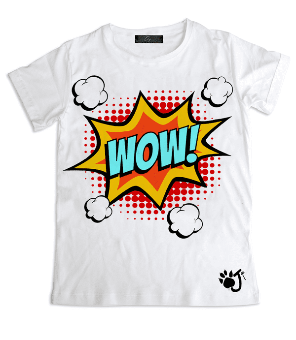T-Shirt Uomo POP WOW | Oji Italia