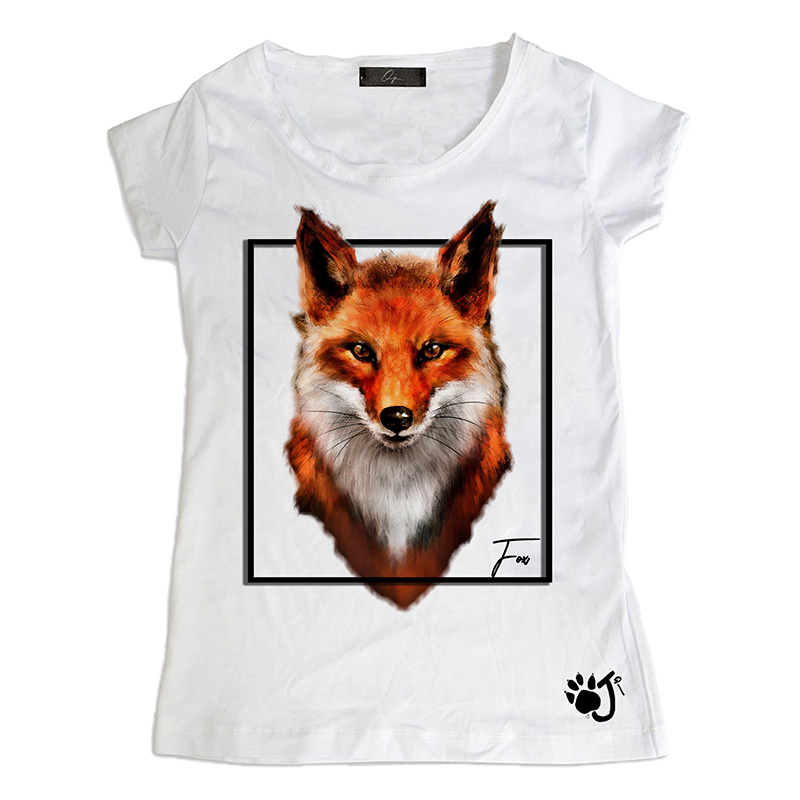 T Shirt Donna Sd014 Fox