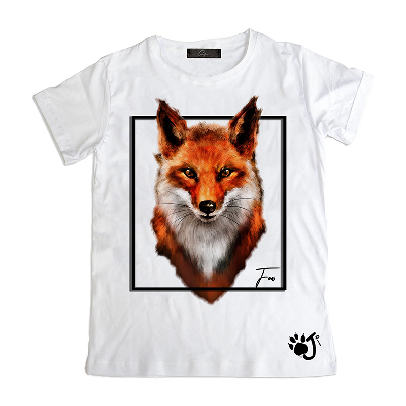 T Shirt Uomo Su014 Fox