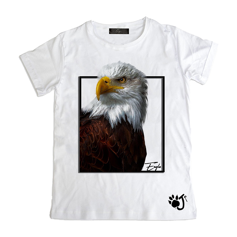 T Shirt Uomo Su015 Eagle
