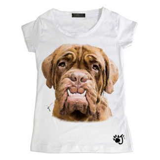 T-Shirt bambina Dogue de bordeaux