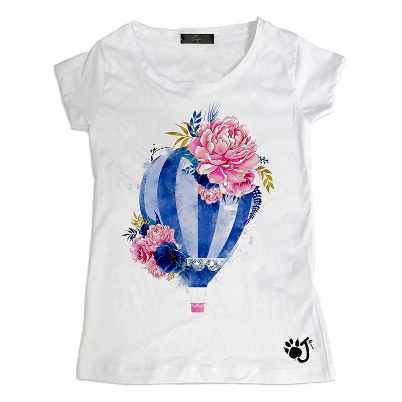 T-Shirt bambina To fly