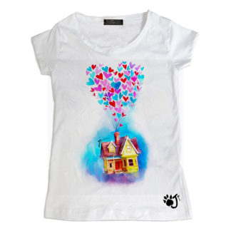 T-Shirt bambina Home sweet