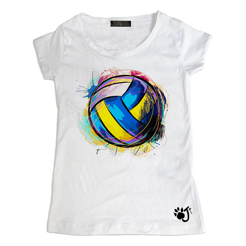 T-Shirt bambina Volley