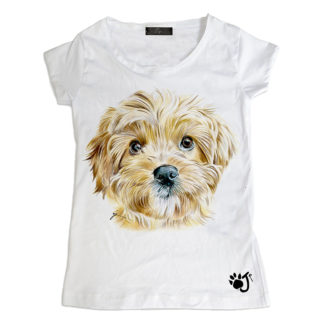 T Shirt Donna Dcd003 Barboncino