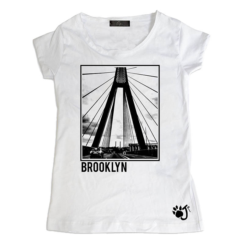 T Shirt Donna Hd018 Brooklyn
