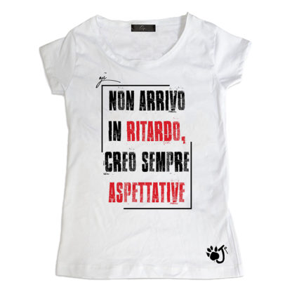 T Shirt Donna Hd025 Aspettative