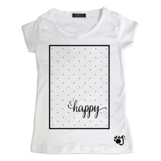 T Shirt Donna Hd040 Happy