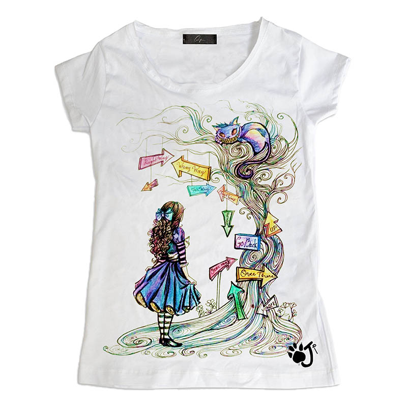 T Shirt Donna Hd063 Alice