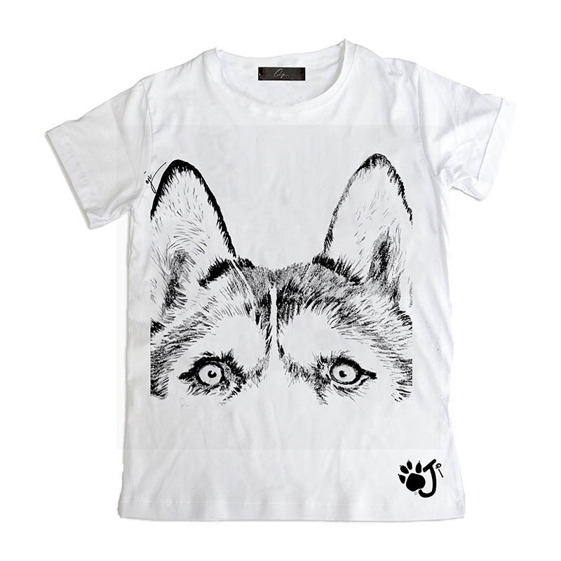 T Shirt Uomo Dcu019 Eyes