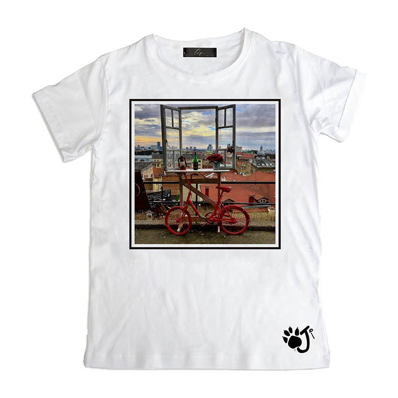 T Shirt Uomo Hu052 Window