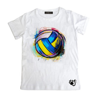 T Shirt Uomo Hu118 Volley