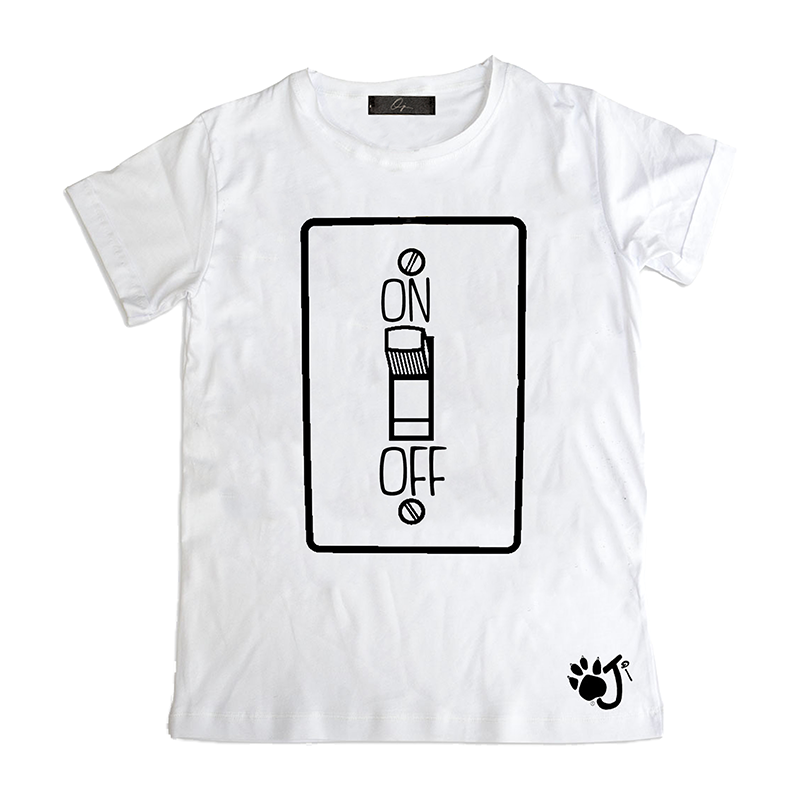 T-Shirt bambino On Off HO010